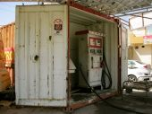 Gas station, Kurdish style. They also have normal gas stations.