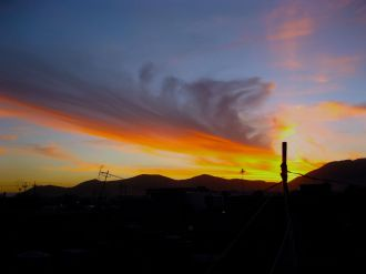 The beautiful skies of Ranya