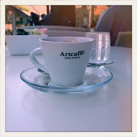 Espresso at Artcaffe, Nairobi